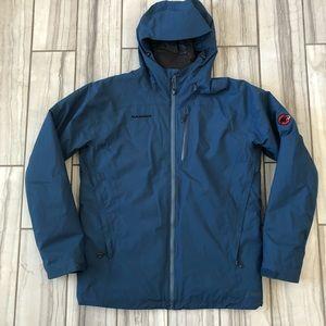 NWOT Mammut weatherproof insulated hooded jacket.